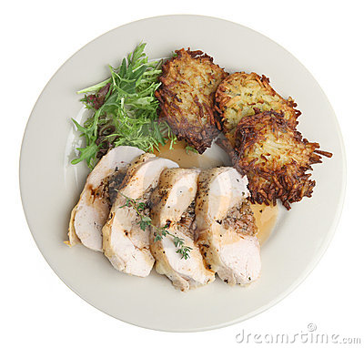 Stuffed Chicken Breast Dinner