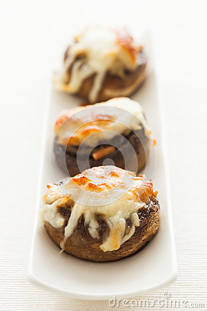 Free Stuffed Mushrooms. Royalty Free Stock Photography - 29529297