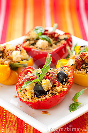 Free Stuffed Peppers Stock Image - 14852301
