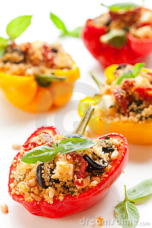 Free Stuffed Peppers Royalty Free Stock Photography - 14894837