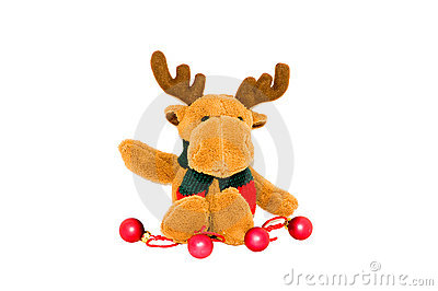 Stuffed reindeer