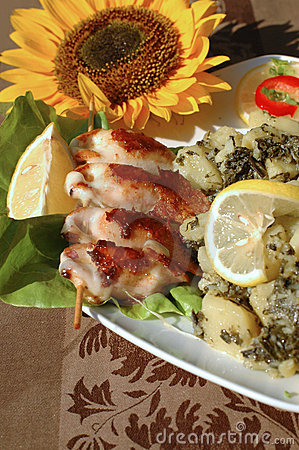 Stuffed squid