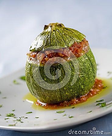 Free Stuffed Zucchini Stock Photo - 3949590