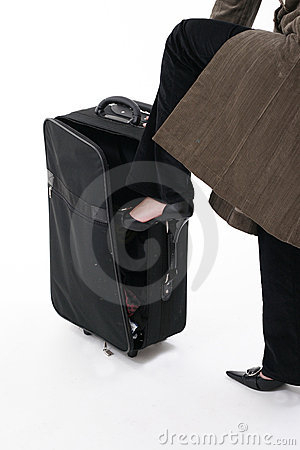 Free Stuffing In The Luggage Stock Photo - 537000