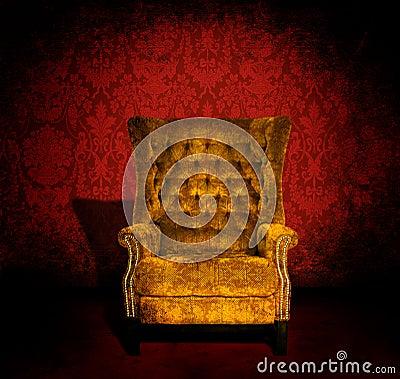 Stuhl in einem Raum