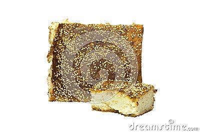 Stukken van brood
