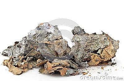 Stukken van metaal