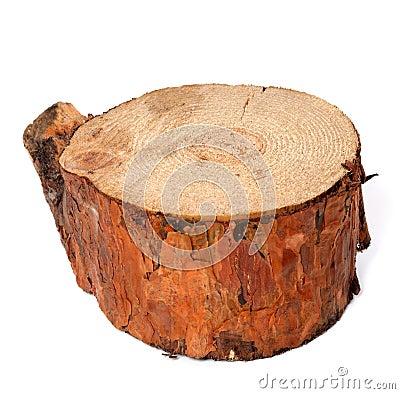 Free Stump Of Pine Tree Royalty Free Stock Image - 32508266