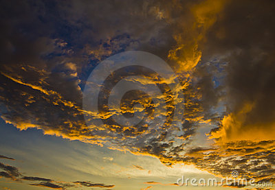 Stunning Cloud Formation