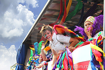Stunning Gay pride in Brighton Editorial Image
