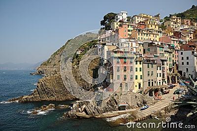 Stunning Italy - village of Riomaggiore