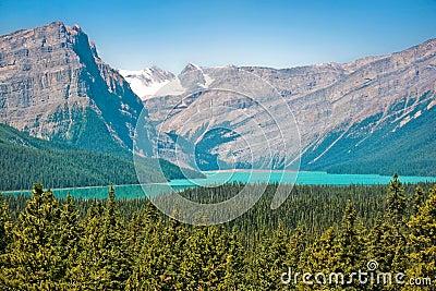 Stunning landscape in Alberta, Canada
