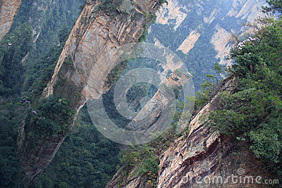 Stunning landscape, Zhangjiajie China