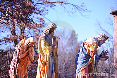 Stunning Life Size Nativity Scene - Three Wise Men