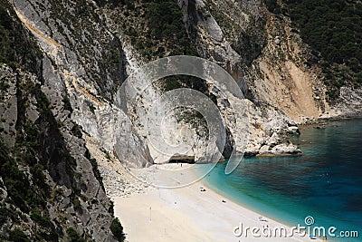 Stunning Myrtos beach