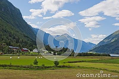 Stunning Norwegian mountain landscape