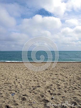 Stunning sandy beach
