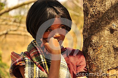Stunning young girl with amazing eyes Editorial Stock Image