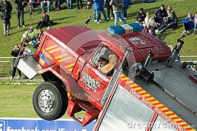 Stunt driving Editorial Stock Image