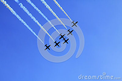 Stunt flying squadron