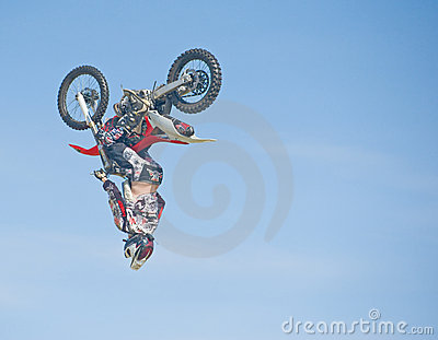 Stunt at Nairn Agricultural Show. Editorial Image