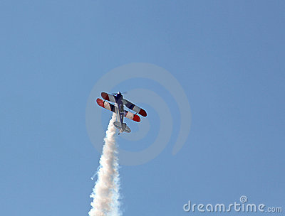 Stunt Pilot Editorial Photo
