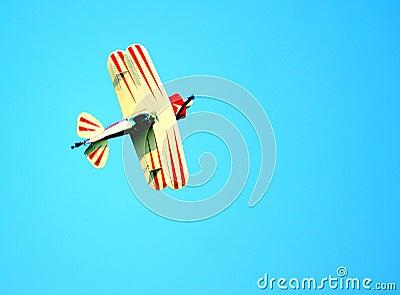 Stunt Pilot Plane