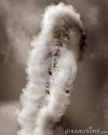 Stunt plane