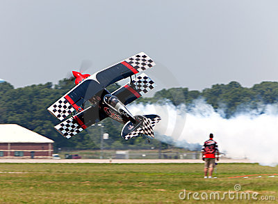 Stunt Plane Editorial Photography