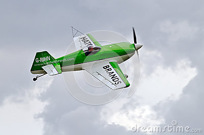 Stunt plane Editorial Stock Image