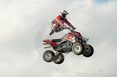 Stunt rider Editorial Photography
