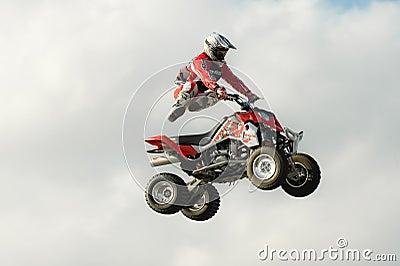 Stunt rider Editorial Photography