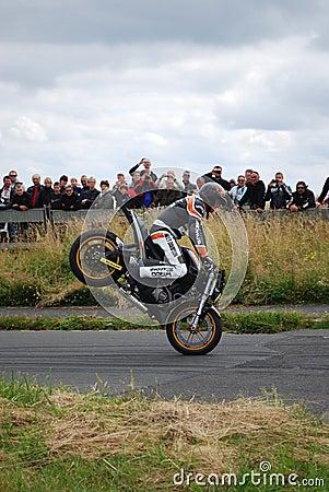 Stuntshow motocycle Editorial Photography