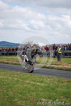 Stuntshow motocycle Editorial Photo