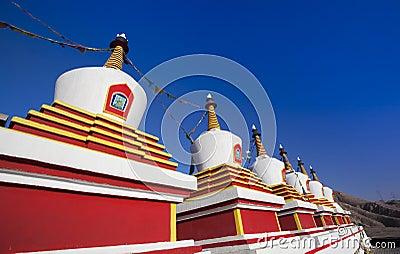 Stupa in china