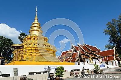 Stupa or jedi Thai style.