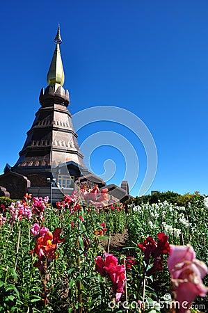 The Stupa Phra Mahathat Naphamethanidon