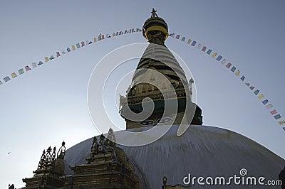 Stupa Swayambhu ,Kathmandu
