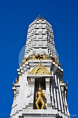 Stupa in thailand s temple