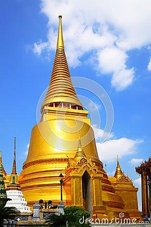 Stupa in Wat Phra Kaeo