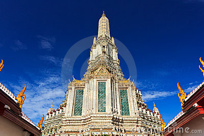 Stupa in Wat thai