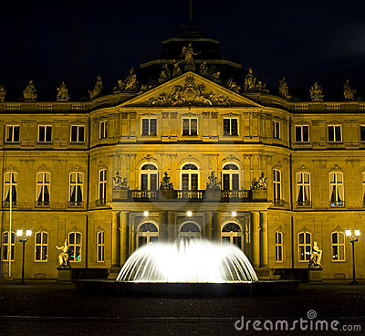 Free Stuttgart Palace Square Stock Photography - 7293072