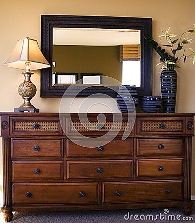 Free Styiish Bedroom Furniture Arrangement Stock Photography - 10455562