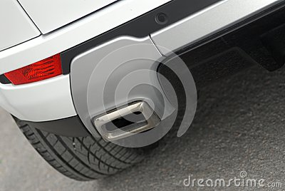Styl car exhaust pipe