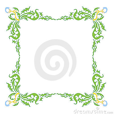 Style Dandelion Frame