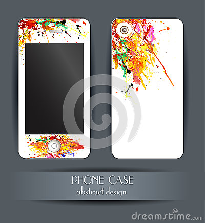 Style phone case. Cover for your mobile phone.