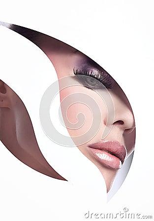Free Style Portrait Royalty Free Stock Photo - 13528165