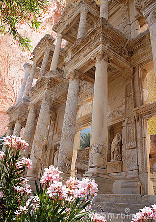 Styled picture - ancient Ephesus