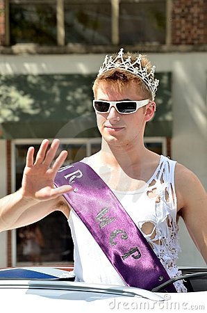 Styles at the Pride Parade in Madison, Wisconsin Editorial Image