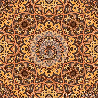 Free Stylish Arabic Ornament Royalty Free Stock Images - 19233759